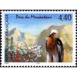 France Yvert Num 2999 ** Mercantour Gypaète  1996