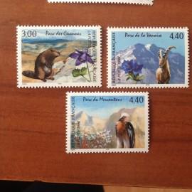 France Yvert Num 2997-2999 **   1996