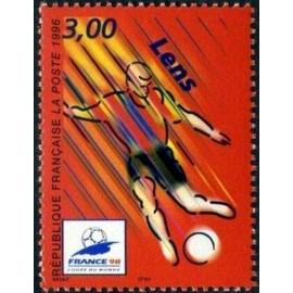 France Yvert Num 3010 ** Coupe du Monde 98 Lens 1996