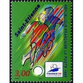 France Yvert Num 3012 ** Coupe du Monde 98 Saint Etienne 1996