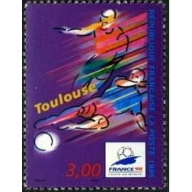 France Yvert Num 3013 ** Coupe du Monde 98 Toulouse 1996