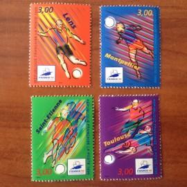 France Yvert Num 3010-3013 ** Coupe du Monde 98  1996