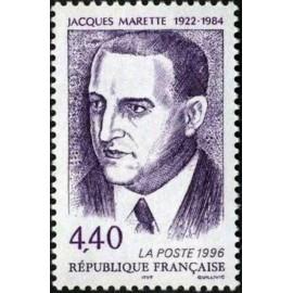 France Yvert Num 3015 **  Jacques Marette  1996