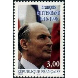 France Yvert Num 3042 ** Mitterrand  1997