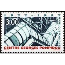France Yvert Num 3044 ** Centre G Pompidou  1997