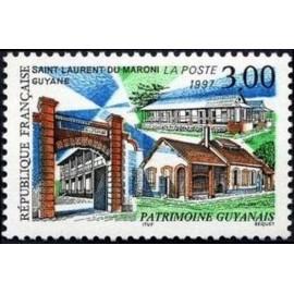 France Yvert Num 3048 ** Guyanne  1997