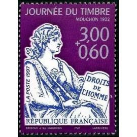 France Yvert Num 3051 ** Mouchon  1997