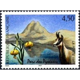 France Yvert Num 3056 ** Port Cros puffin Lavande  1997