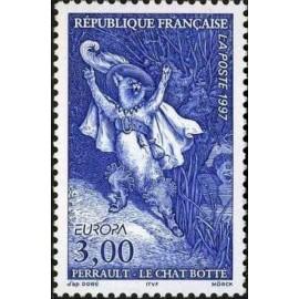 France Yvert Num 3058 ** Nantes  1997