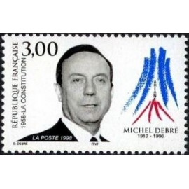 France Yvert Num 3129 ** Michel Debré  1998