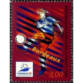France Yvert Num 3130 ** Coupe du Monde 98 Bordeaux 1998