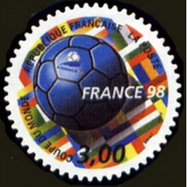France Yvert Num 3140 ** Coupe du Monde 98  1998