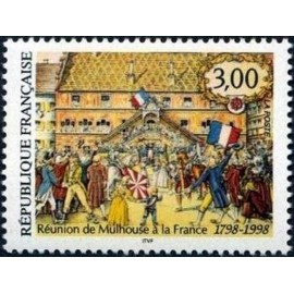 France Yvert Num 3142 ** Mulhouse  1998