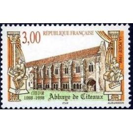France Yvert Num 3143 ** Citeaux  1998