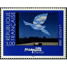 France Yvert Num 3145 ** Tableau Magritte  1998