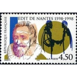 France Yvert Num 3146 ** Edit de Nantes  1998