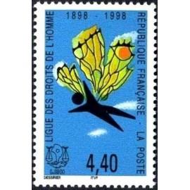 France Yvert Num 3149 ** Droit homme  1998
