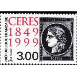 France Yvert Num 3211 ** Ceres Noir  1999