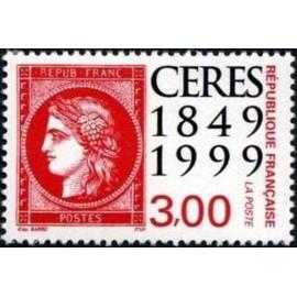 France Yvert Num 3212 ** Ceres rouge  1999