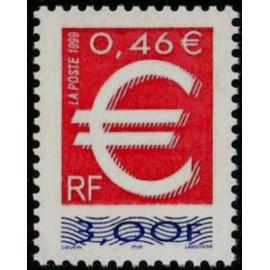 France Yvert Num 3214 ** 3f €  1999