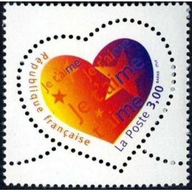 France Yvert Num 3218 ** Cœur  1999