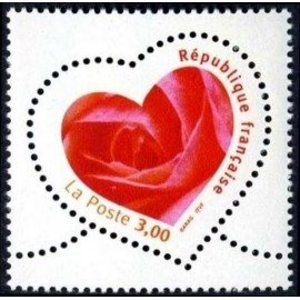 France Yvert Num 3219 ** Cœur  1999