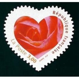 France Yvert Num 3221 ** Cœur Adhesif  1999