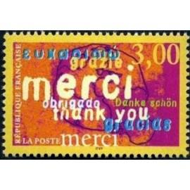 France Yvert Num 3230 ** Merci  1999