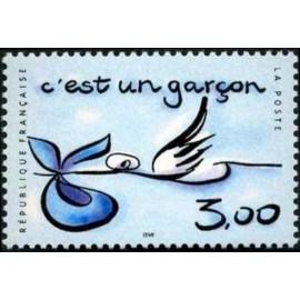 France Yvert Num 3232 ** Garçon  1999