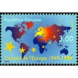 France Yvert Num 3233 ** Carte  1999