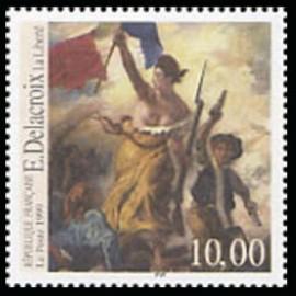 France Yvert Num 3236 ** Tableau Delacroix  1999