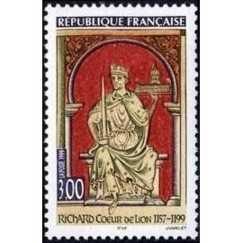 France Yvert Num 3238 ** Cœur de Lion  1999