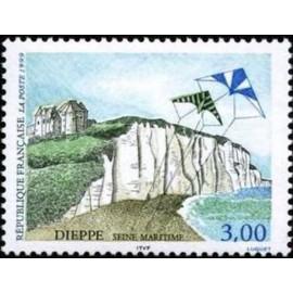 France Yvert Num 3239 ** Dieppe cerf volant  1999