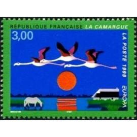 France Yvert Num 3240 ** Europa Camargue  1999