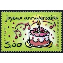France Yvert Num 3242 ** Gateau  1999