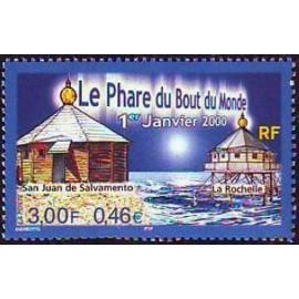 France Yvert Num 3294 ** Phare  2000