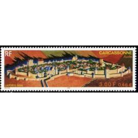 France Yvert Num 3302 ** Carcassonne en 2000