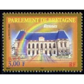 France Yvert Num 3307 ** Rennes en 2000
