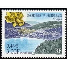 France Yvert Num 3311 ** Vosges lac en 2000