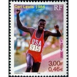 France Yvert Num 3313 ** Carl Lewis en 2000