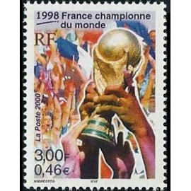 France Yvert Num 3314 ** Foot France en 2000