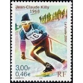 France Yvert Num 3315 ** Killy  ski en 2000