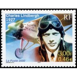 France Yvert Num 3316 ** Lindbergh en 2000