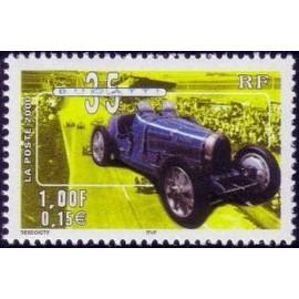 France Yvert Num 3317 ** Bugatti en 2000