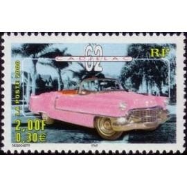 France Yvert Num 3323 ** Cadillac en 2000