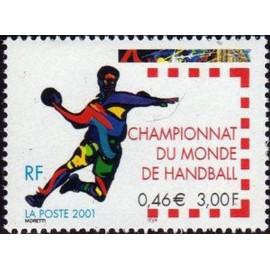 France Yvert Num 3367 ** Handball en 2001