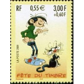 France Yvert Num 3371 ** Lagaffe en 2001