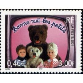 France Yvert Num 3372 ** ours en 2001