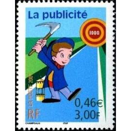 France Yvert Num 3373 ** publicité en 2001