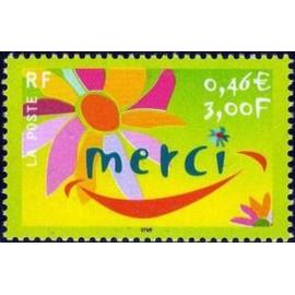 France Yvert Num 3379 ** Merci en 2001